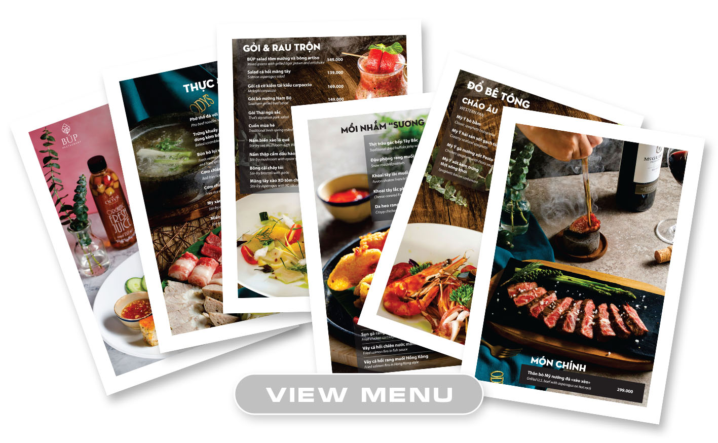 Taste the world with the new menu at Bup Restaurant